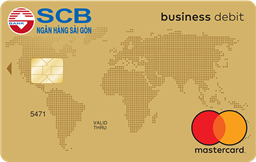 the SCB Master Gold Debit Business